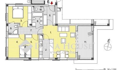 Eladó Garázs, Budapest, 2 kerület, Zöldmálon 1+ 3 hálós, 1. emeleti lakás télikerttel