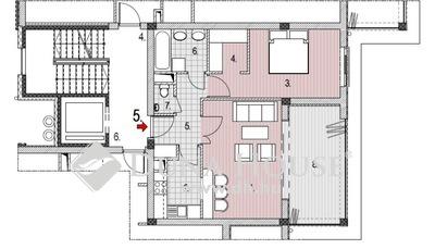 Eladó Lakás, Budapest, 2 kerület, Zöldmálon 1. emeleti 1+1 szobás lakás télikerttel