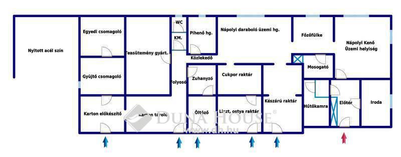 Eladó Ipari ingatlan, Bács-Kiskun megye, Lajosmizse, Lajosmizse frekventált részén