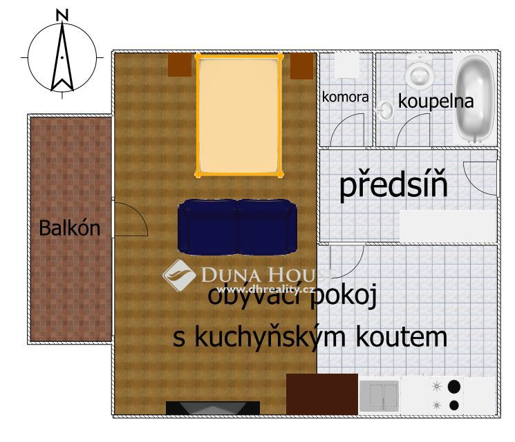 Prodej bytu, Vinohradská, Praha 10 Strašnice