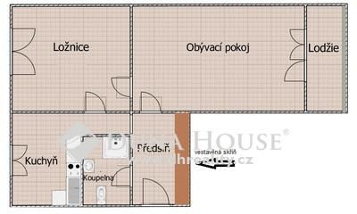 Prodej bytu, V Úžlabině, Praha 10 Strašnice