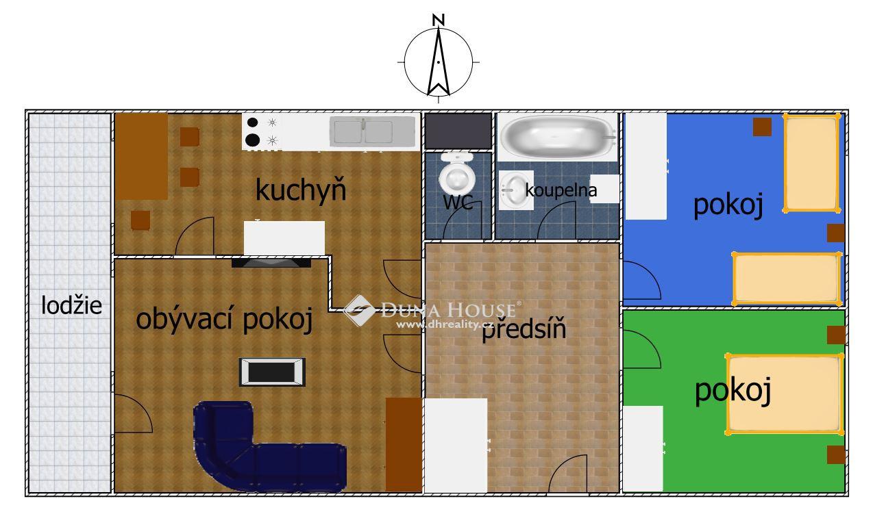 Prodej bytu, Mendelova, Praha 4 Háje