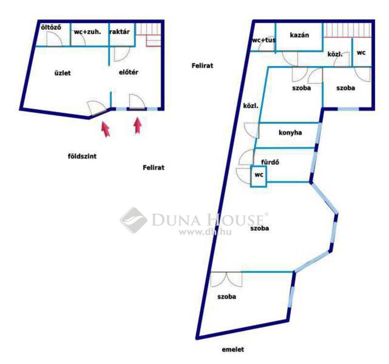 Eladó Lakás, Bács-Kiskun megye, Kecskemét, Belvárosi lakás + üzlethelyiség