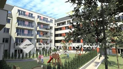 Újpest központ, 46 lakásos társasház