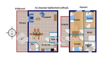 Eladó Lakás, Pest megye, Vecsés, Új házas környéken kertkapcsolatos lakás.