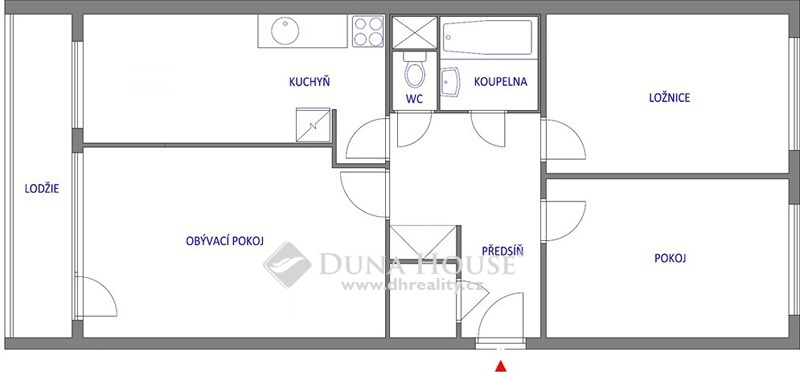 Prodej bytu, Neustupného, Praha 5 Stodůlky