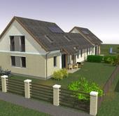 Eladó ház, Szombathely, Kisz, hőszivattyú+napelem !
