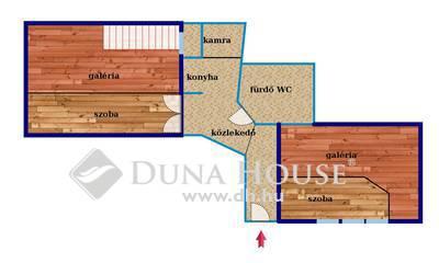 Eladó Lakás, Budapest, 8 kerület, Rákóczi Térnél 1+1 külön szobás