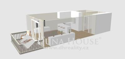 Prodej bytu, U Dvojdomů, Praha 10 Hostivař