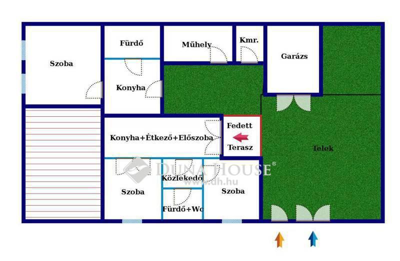 Eladó Ház, Csongrád megye, Csongrád, Csongrádi fürdő közelében