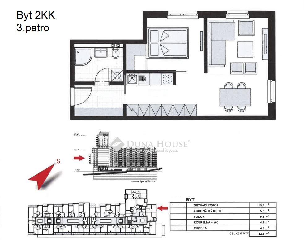 Prodej bytu, Jeremiášova, Praha 5 Stodůlky