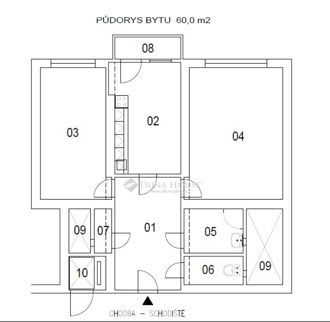 Prodej bytu, Sokolovská, Praha 9 Libeň