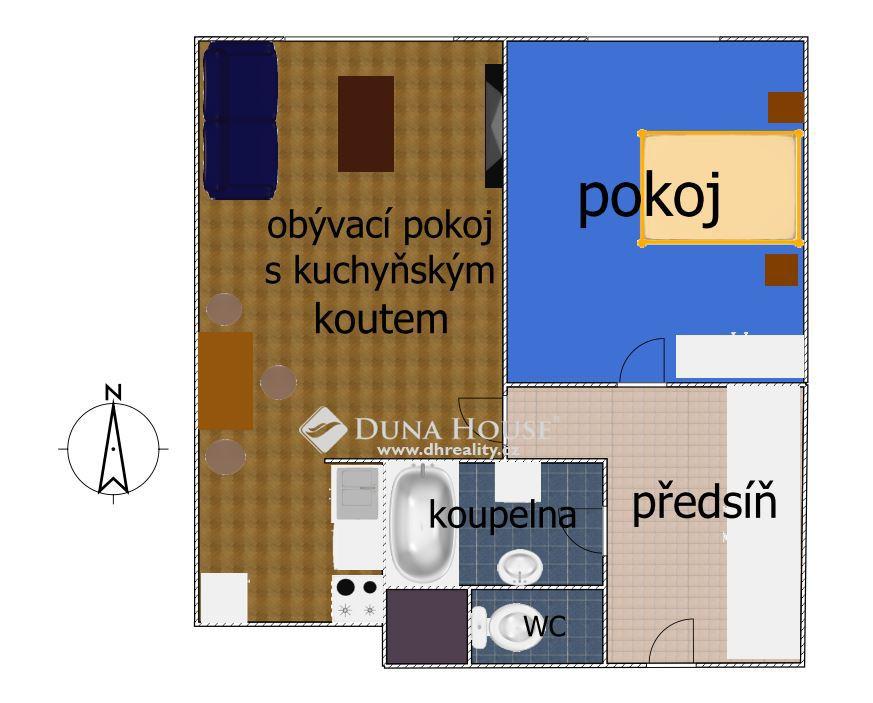Prodej bytu, Vnoučkova, Benešov