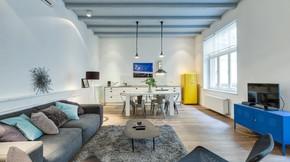 Eladó lakás, Budapest 5. kerület, Bohém luxus lakás a Lánchíd szomszédságában