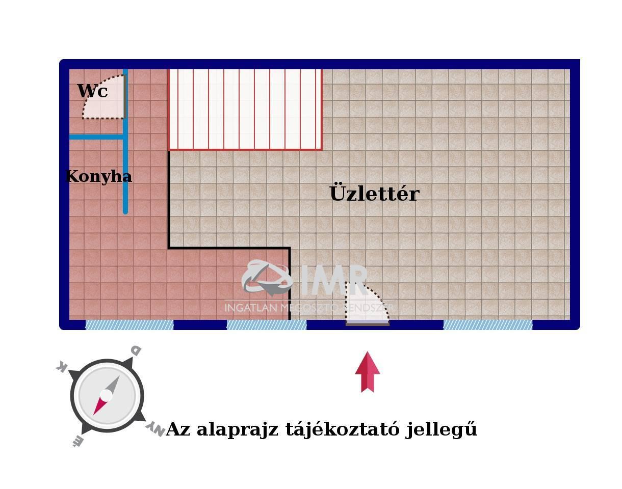 üzlethelyiség - Budapest, I. kerület