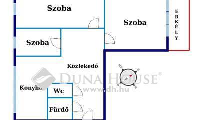 Eladó Lakás, Bács-Kiskun megye, Kecskemét, ERKÉLYES, 3 szobás lakás eladó!