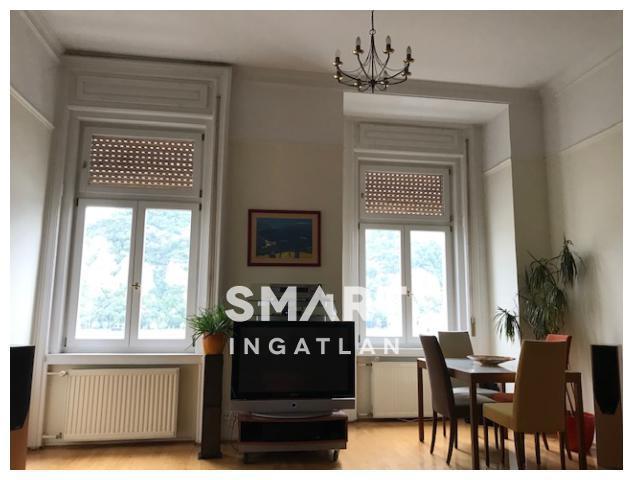 Kiadó Lakás, Budapest, 5 kerület, Dunára panorámás felújított bútorozott lakás