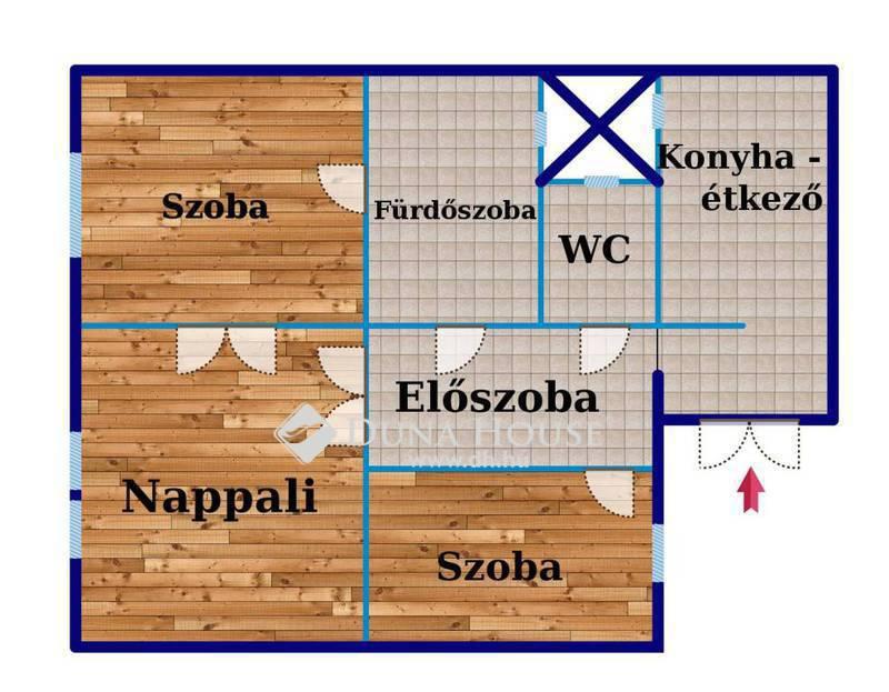Eladó Lakás, Budapest, 14 kerület, Igényes, 3 szobás lakás Zuglóban, a Bosnyák tértől