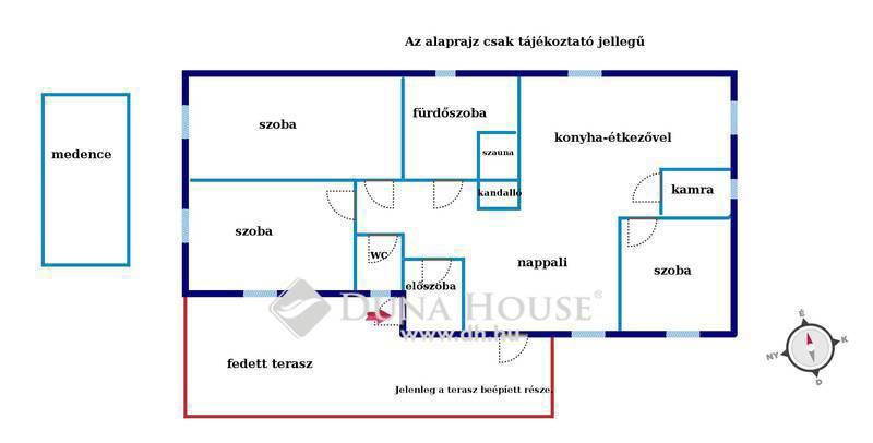 Eladó Ház, Pest megye, Szigetszentmiklós, Duna part közelében igényes medencés ház