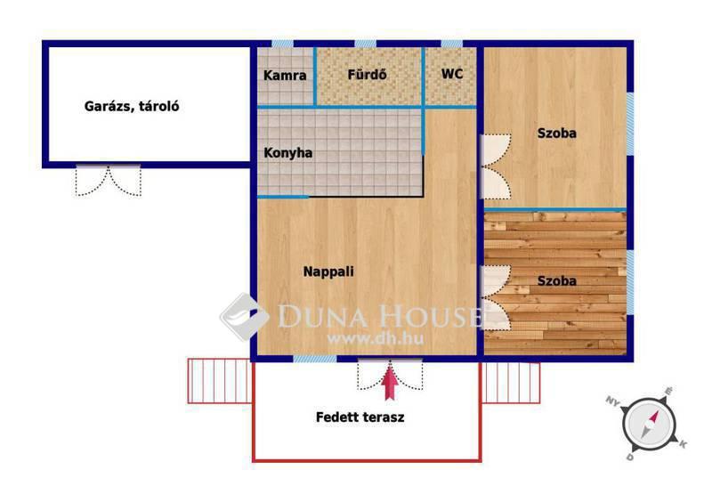 Eladó Ház, Pest megye, Nyáregyháza, Csendes utcában,hatalmas telken,erdős környezetben