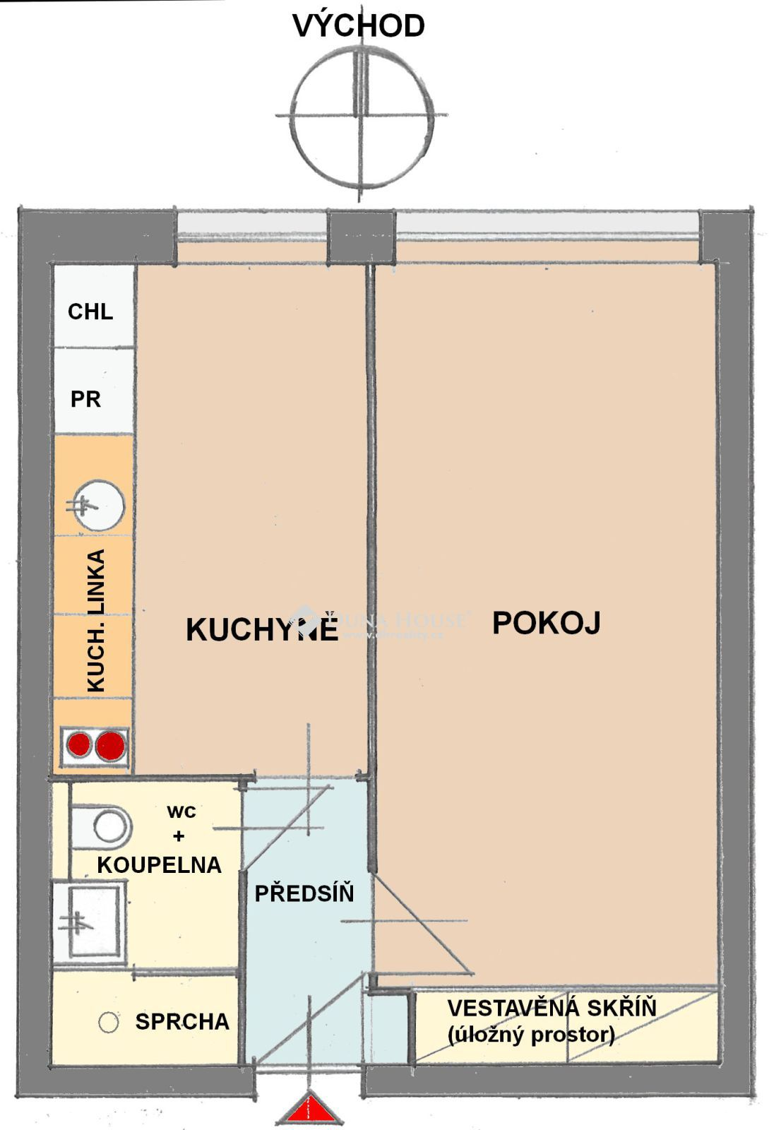 Prodej bytu, Šestajovická, Praha 9 Hloubětín