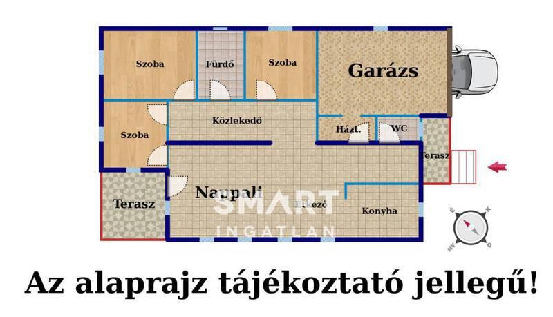 Eladó Ház, Pest megye, Érd, Leendő lakópark közelében