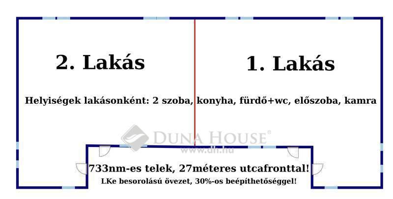 Eladó Ház, Jász-Nagykun-Szolnok megye, Jászberény, Belvárosi Ikerház/Építési Telek!