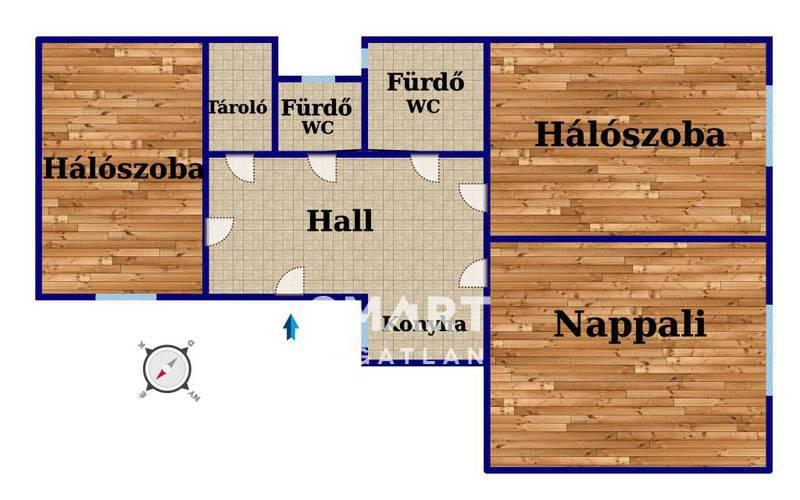 Eladó Lakás, Budapest, 8 kerület, Corvinnegyed