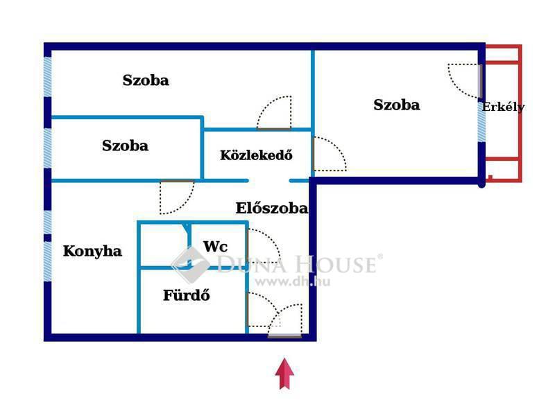 Eladó Lakás, Bács-Kiskun megye, Kecskemét, Belvárosi lakás eladó!