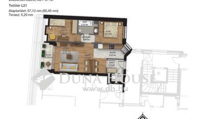 Eladó Lakás, Zala megye, Zalaegerszeg, Ady 3.em, 1+2 szobás, 61m2