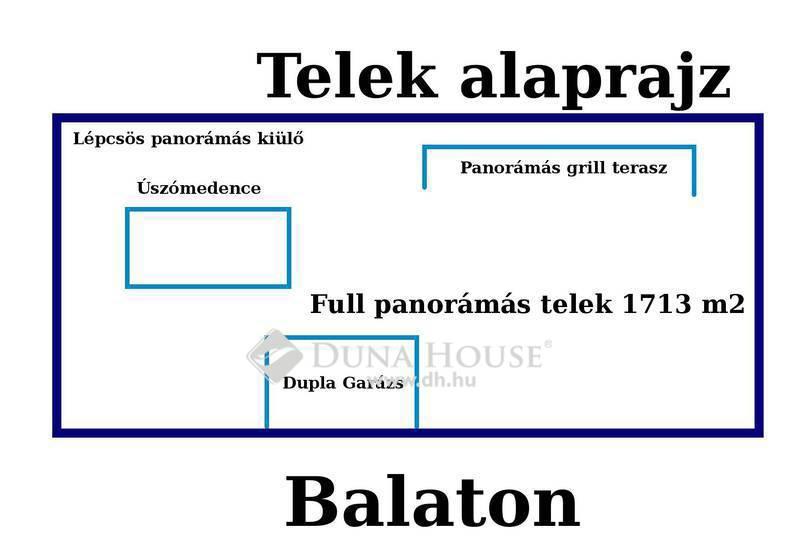 Eladó Ház, Veszprém megye, Balatonalmádi, Balatoni panorámás