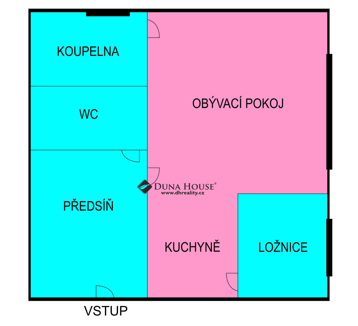 Prodej bytu, U Družstva Ideál, Praha 4 Nusle