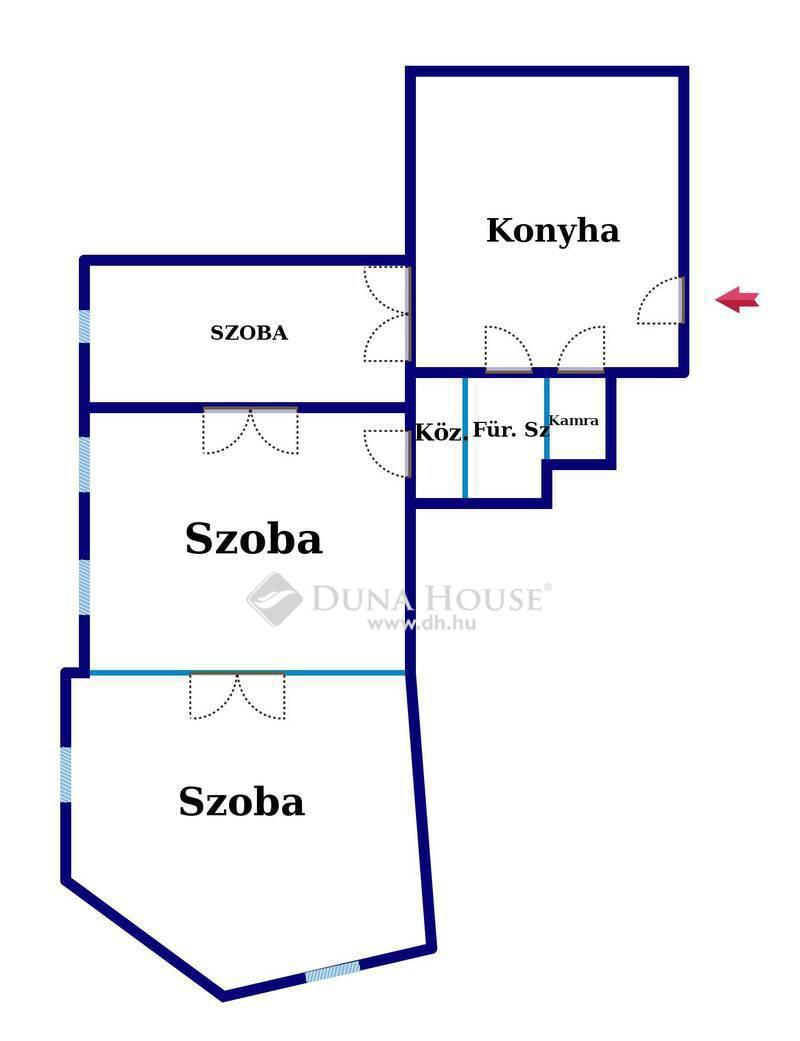 Eladó Lakás, Budapest, 8 kerület, Corvin negyed, Körútnál 4 szobássá alakítható