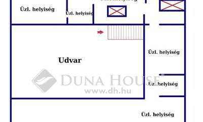 Eladó üzlethelyiség, Budapest, 6 kerület, ÁRCSÖKKENÉS-UTCAI lejárattal üzlethelyiség eladó