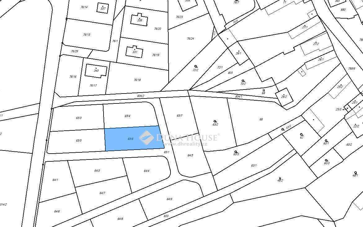 Prodej pozemku, Štíhlice, Okres Praha-východ