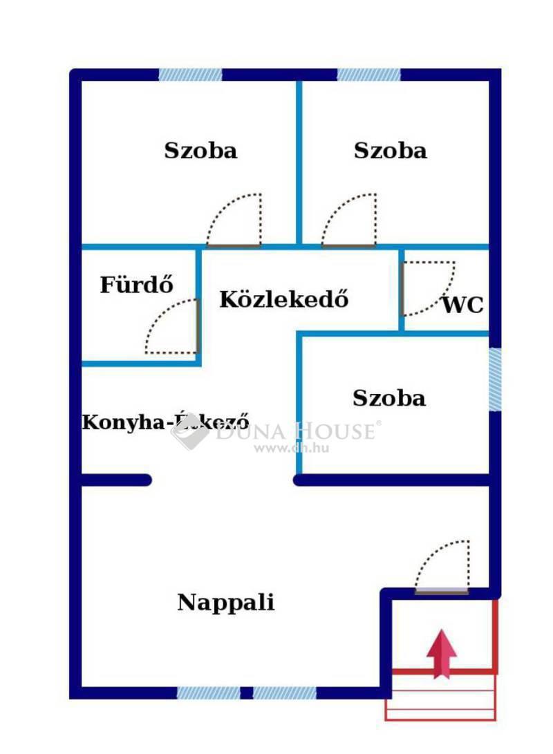 Eladó Lakás, Pest megye, Szentendre, Jó elhelyezkedés! Saját-Nagy kertrész!