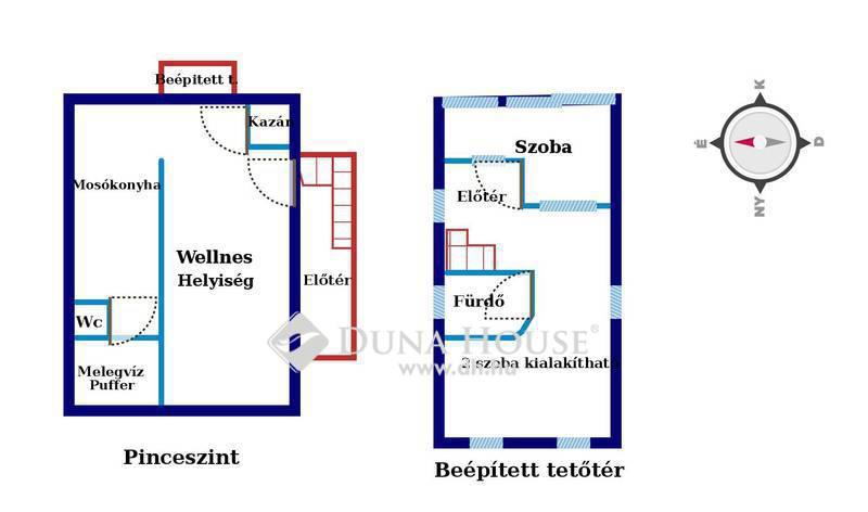 Eladó Ház, Zala megye, Zalaegerszeg, Becsali csendes, városra néző utcájában