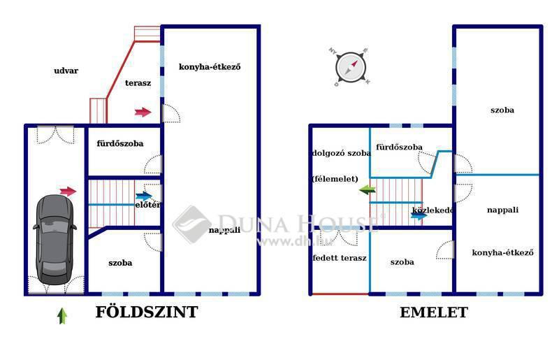 Eladó Ház, Bács-Kiskun megye, Kecskemét, Belvárosban kiváló állapotú azonnal költözhető cs