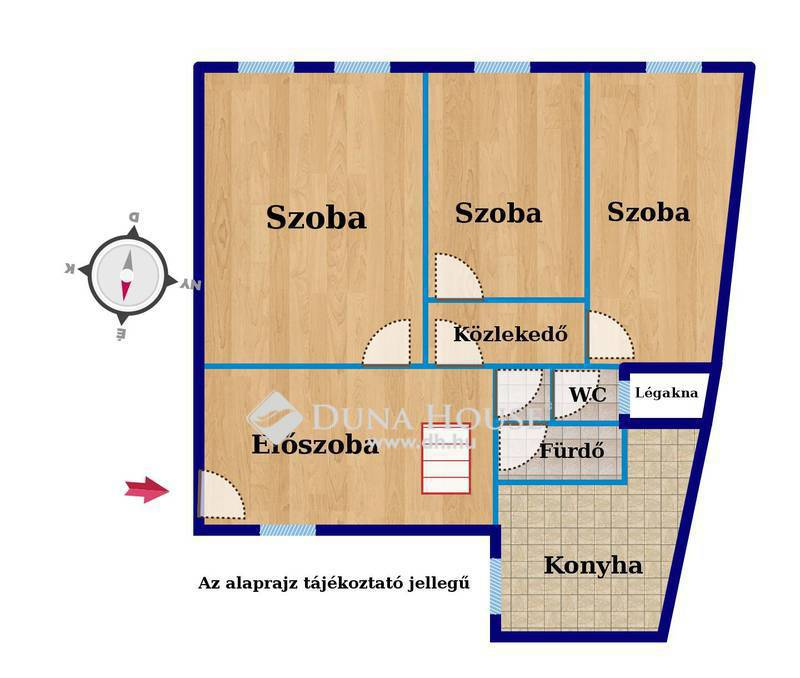 Eladó Lakás, Budapest, 10 kerület, Kőbányán a sétáló utcában belső 2 szintes tágas