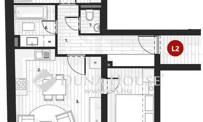 Eladó Lakás, Zala megye, Zalaegerszeg, I.em, 65 m2, nappali + 2 szobás