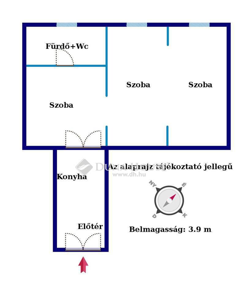 Eladó Lakás, Budapest, 7 kerület, BULINEGYEDBEN 3 SZOBÁS FELÚJÍTANDÓ