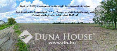 Eladó Telek, Pest megye, Dunaharaszti, Szent István út