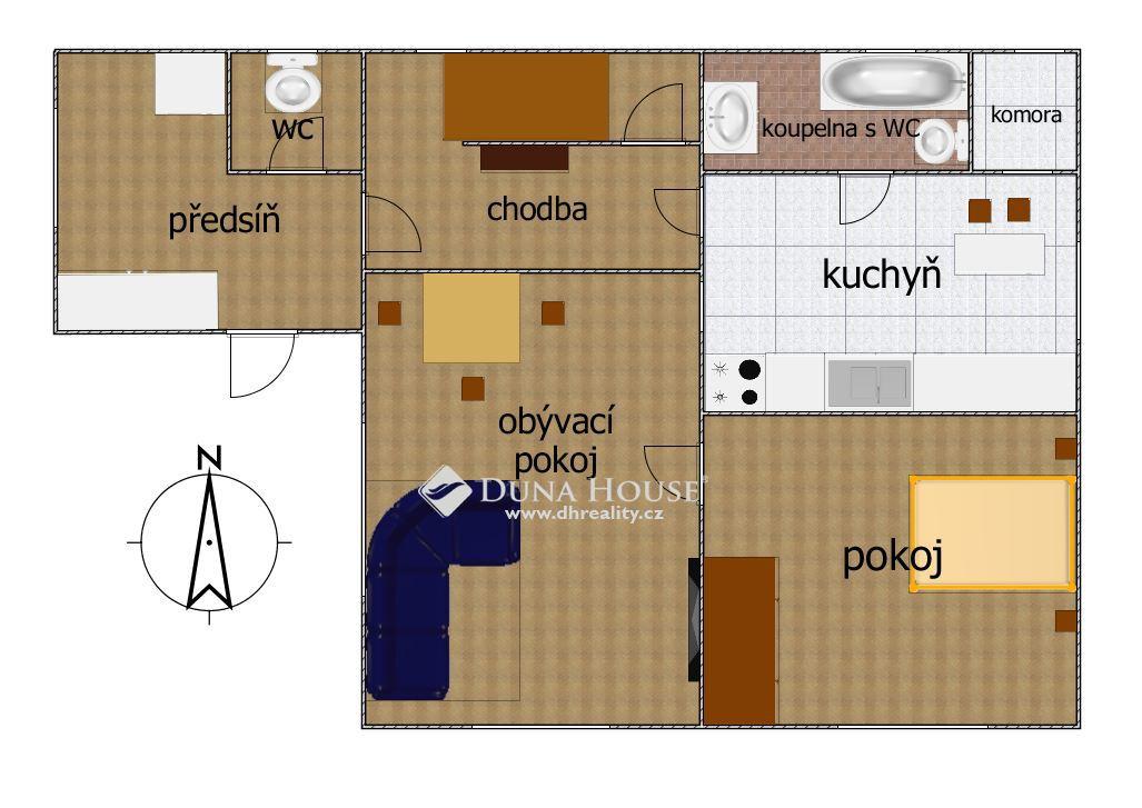 Prodej domu, Praha 8 Dolní Chabry