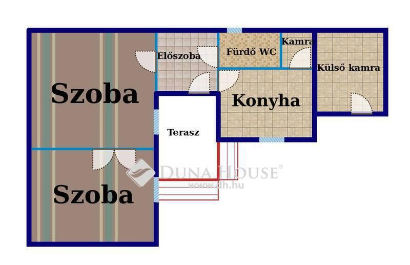 Eladó Ház, Bács-Kiskun megye, Kecskemét, Belvárosban