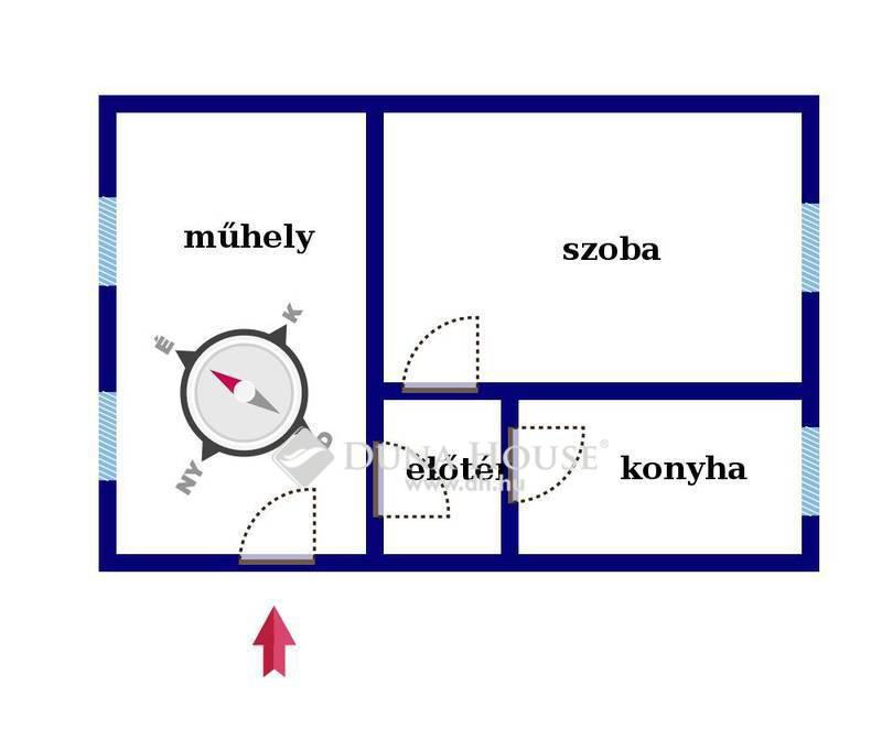 Eladó Ház, Baranya megye, Komló, Temető dűlő