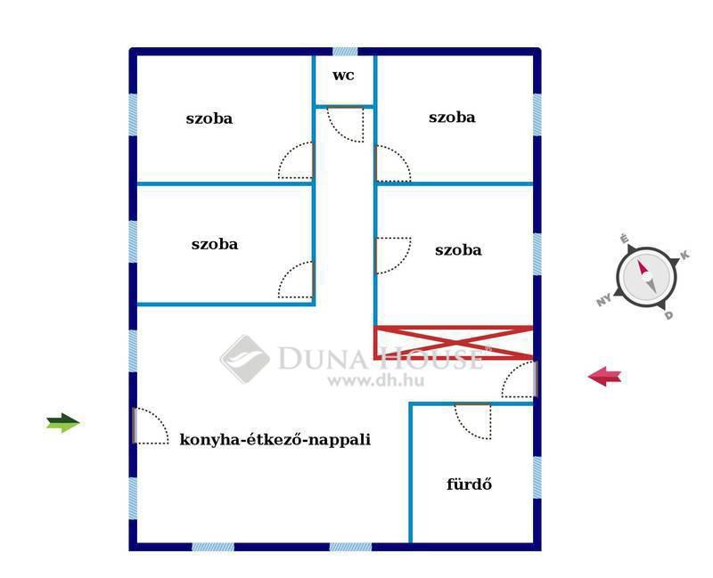 Eladó Ház, Bács-Kiskun megye, Kecskemét, Kecskemét Új házas, kedvelt részén