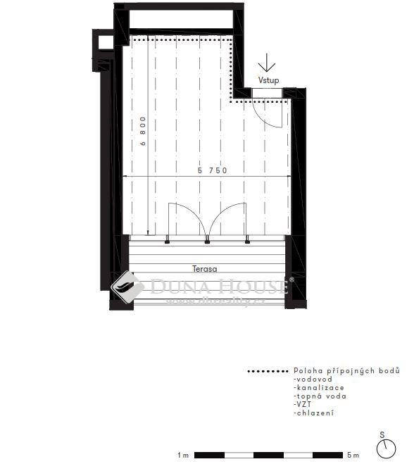 Prodej bytu, Československého Exilu, Praha 4 Modřany