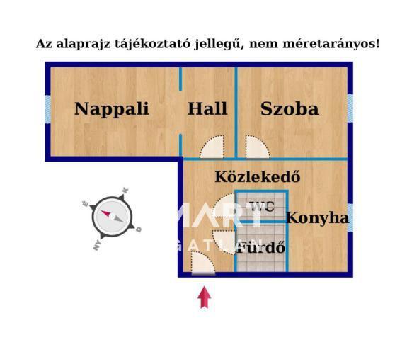 Eladó Lakás, Győr-Moson-Sopron megye, Győr, Befektetők számára ideális 2 szoba+hallos panel