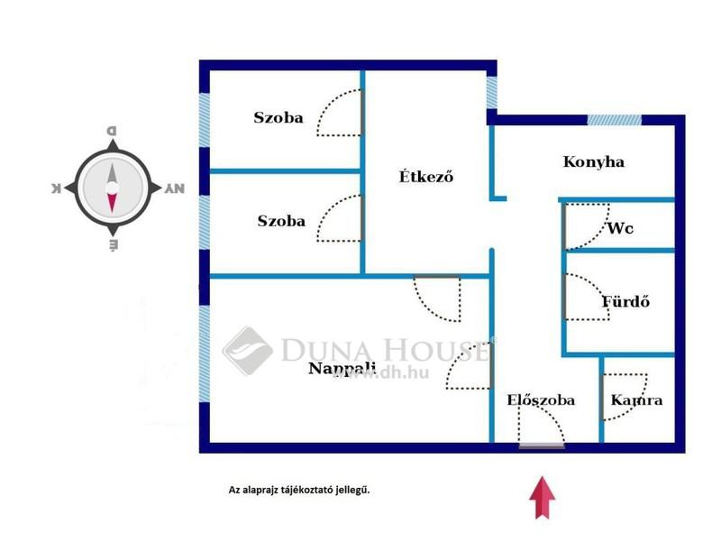 Eladó Lakás, Budapest, 13 kerület, Vizafogón 3 szobás lakás 34 mFt alatt