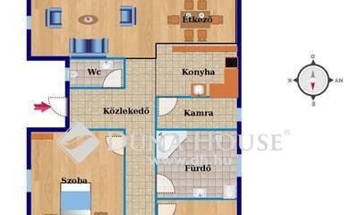 Eladó Ház, Bács-Kiskun megye, Kecskemét, ÚJ ÉPÍTÉS - NAPPALI + 3 SZOBA